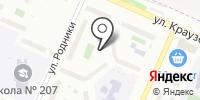 Клайд на карте