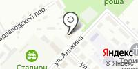 Бугринский на карте
