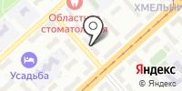 Юнис Дент на карте