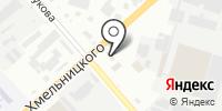Кипяток на карте