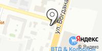 Магазин инструмента и крепежных изделий на ул. Богдана Хмельницкого на карте