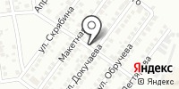 Продуктовый магазин на ул. Докучаева на карте