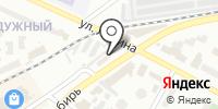 На переезде на карте