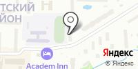 Настенька на карте