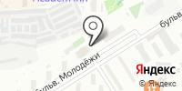 Академ-Электра на карте