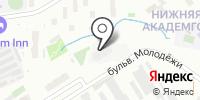 Эрнест на карте
