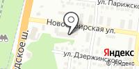 Азарий на карте