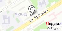Алинн на карте