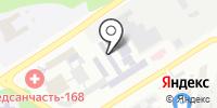 Аэнзет на карте