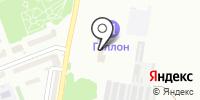 СТО на Твардовского на карте