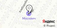 Москвич на карте