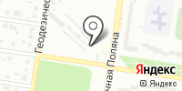 Автостоянка на Солнечной Поляне на карте
