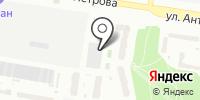 Мизюлинская роща на карте