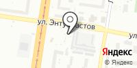 Автостоянка на Энтузиастов на карте