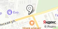 Экспресс-дилижанс на карте