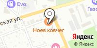 Ноев Ковчег на карте