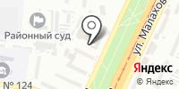 О.к. на карте