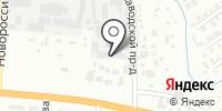 Атава на карте