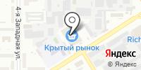 Сеть магазинов по продаже специй на карте