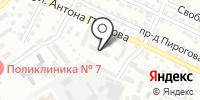 Камиэль на карте
