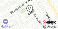 Фриона на карте