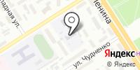 Детский сад №105 на карте