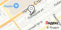 Киль-Барнаул на карте