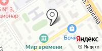 Айсель на карте
