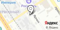Интербизнеспроект на карте