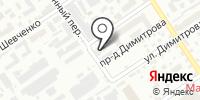Пожарная часть №6 Железнодорожного района на карте