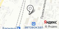 Барнаульский отряд ведомственной охраны на Западно-Сибирской железной дороге на карте
