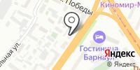 Стомодент на карте