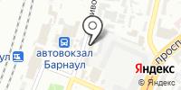 Алтайское Линейное Управление МВД России на транспорте на карте