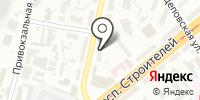 Ладодея на карте