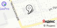 Сухой лес на карте