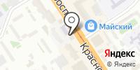 Салмон-Фиш на карте