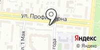 МЭГ на карте