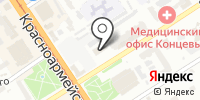 Отделение пенсионного фонда России по Алтайскому краю на карте