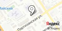 Концевых на карте