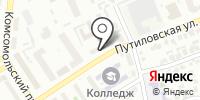 Управление МВД России по г. Барнаулу на карте
