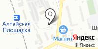 Автостоянка на карте
