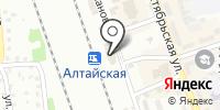 Алтайская на карте