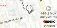 Взлет-Алтай на карте