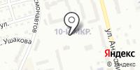 Автостоянка на ул. Анатолия на карте