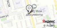 Гардения на карте