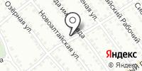 Малахит на карте