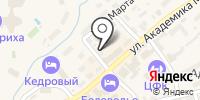Единая служба размещения курорта Белокуриха на карте