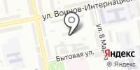 Лэйла на карте