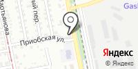 Виал на карте
