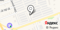 Гаражно-строительный кооператив №9 на карте